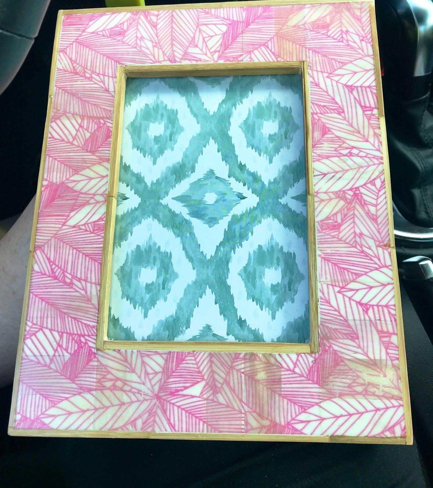 Anthropologie pink batik. Firm $