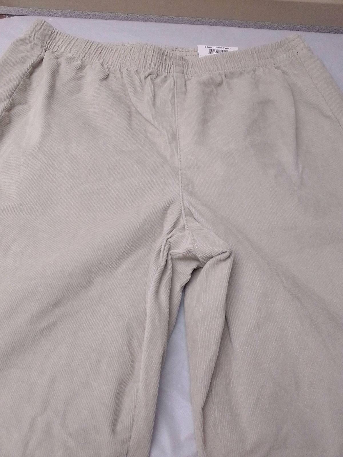 Size PS Women's Corduroy Petite Pants