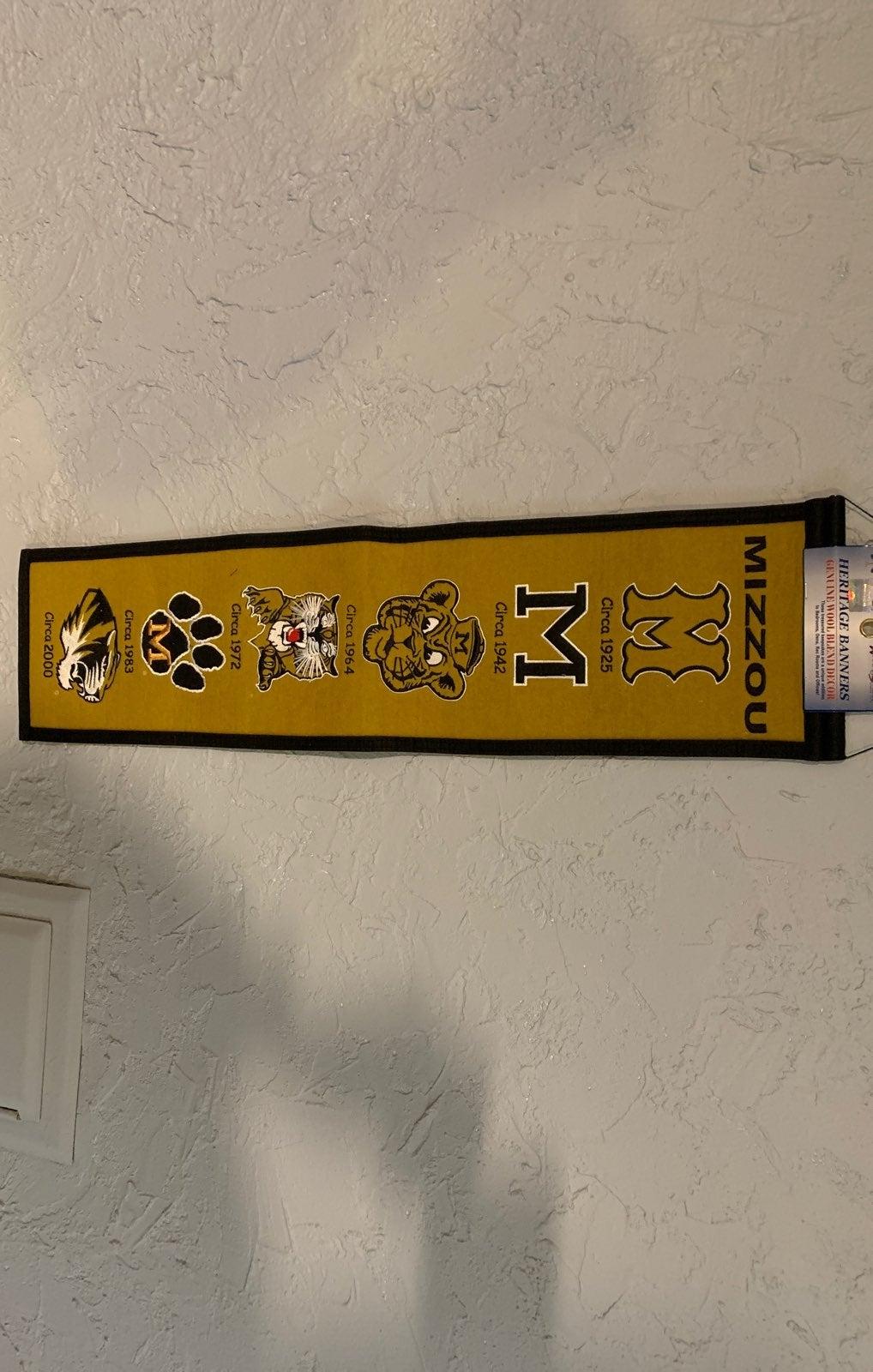 Mizzou Banner heritage brand new
