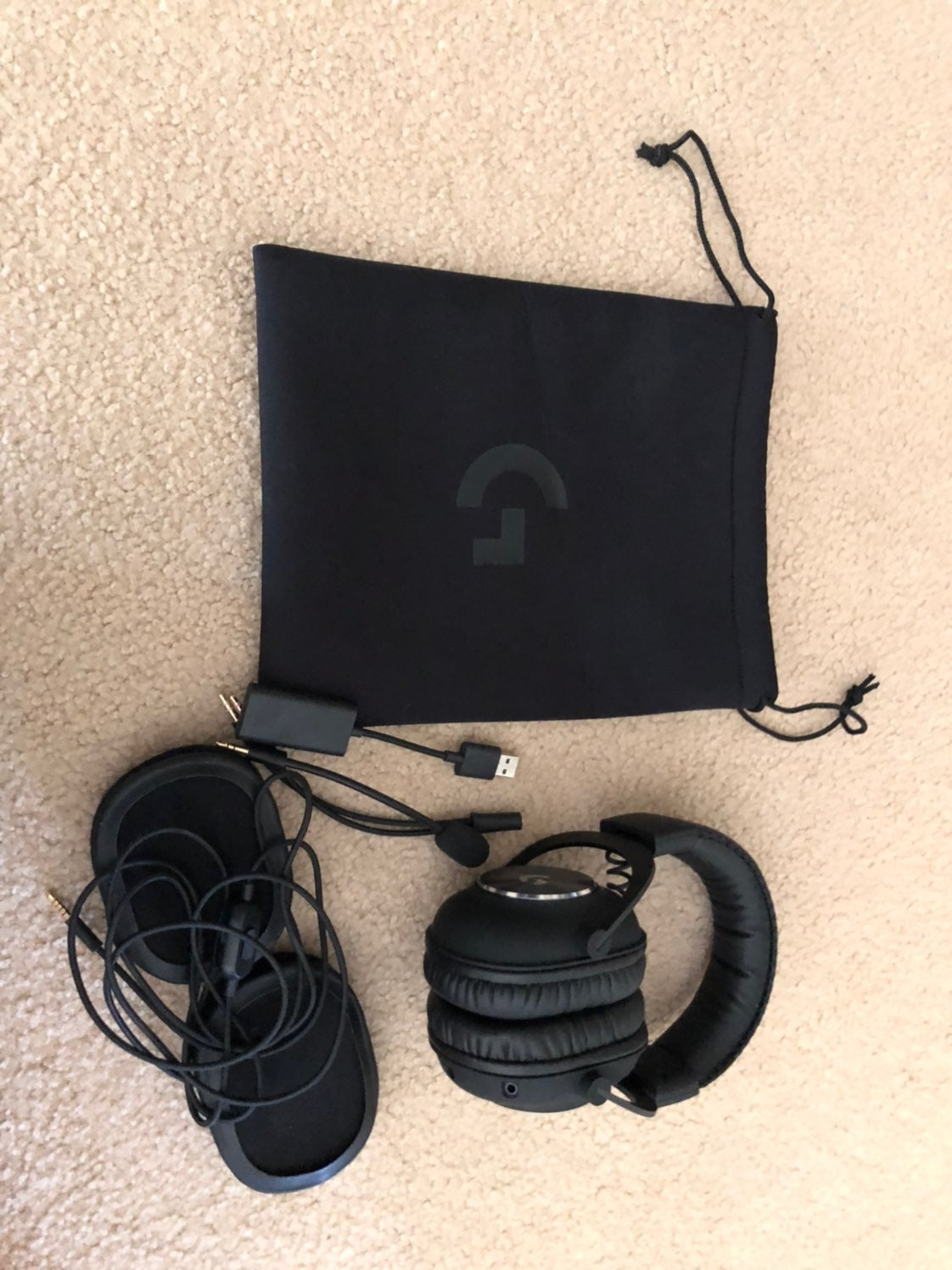 Logitech G Pro X Gaming Headset with Blu