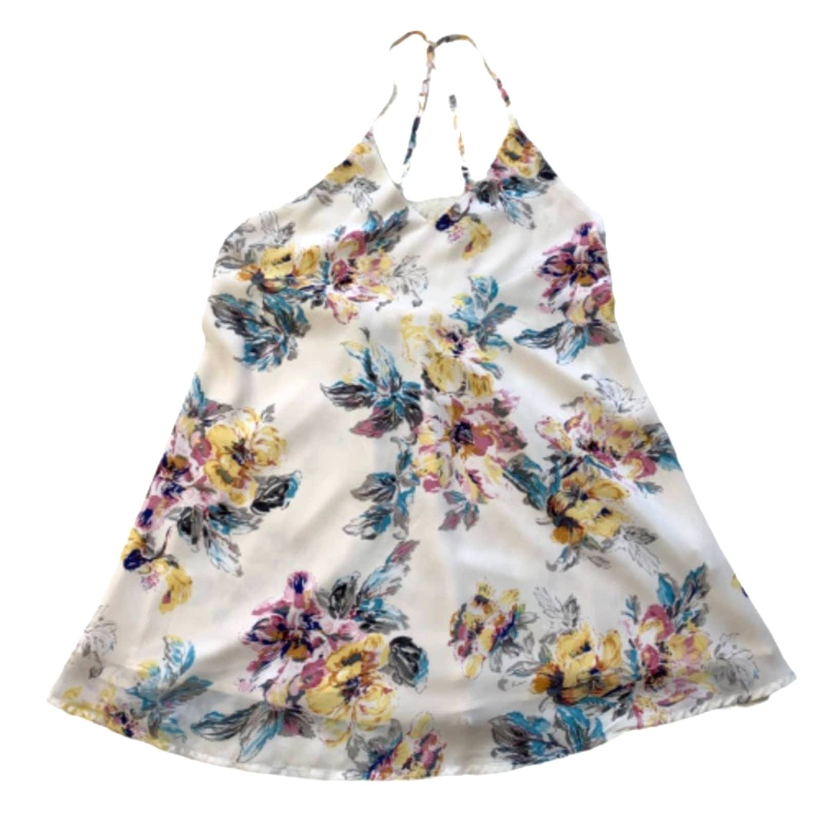 Impressions Floral Blousy Shift Tank Top