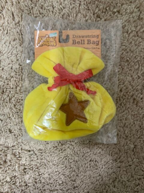 Drawstring Bell bag Animal Crossing