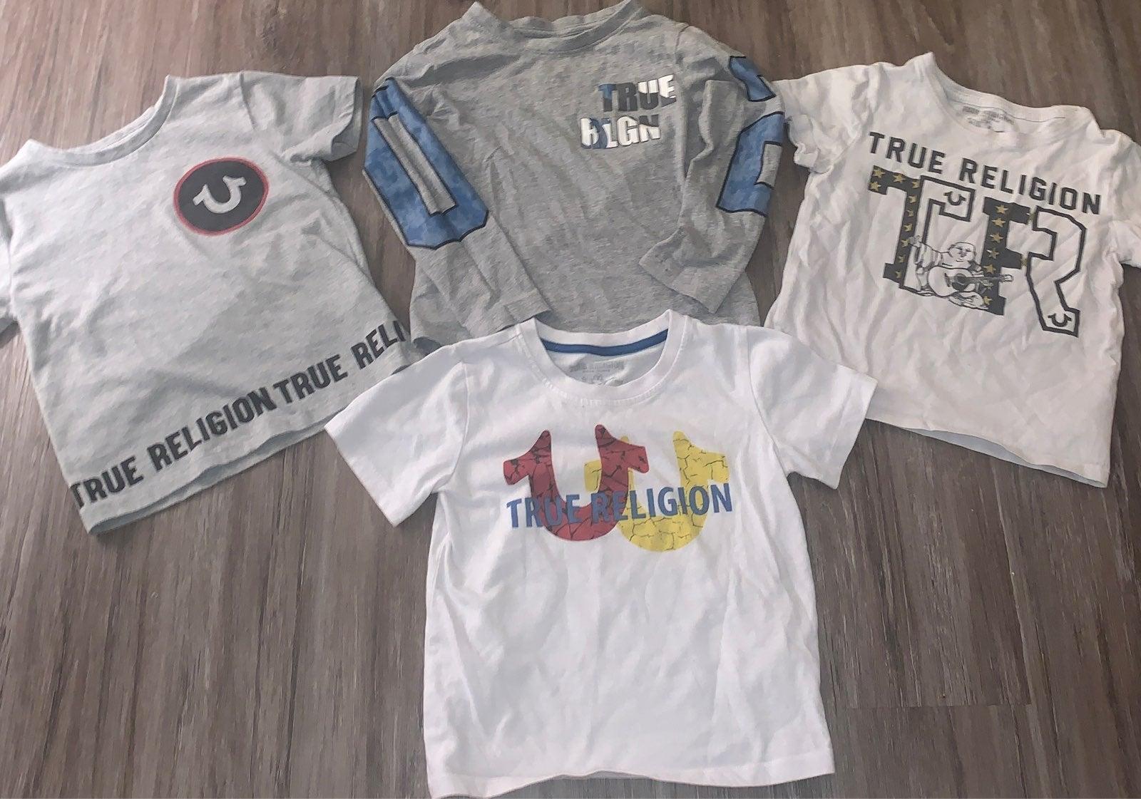 4t True Religion Shirts Bundle