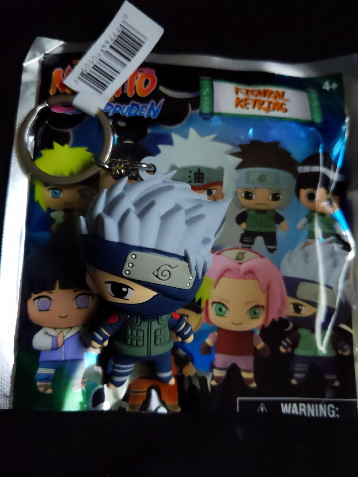 Naruto blind bag keychain