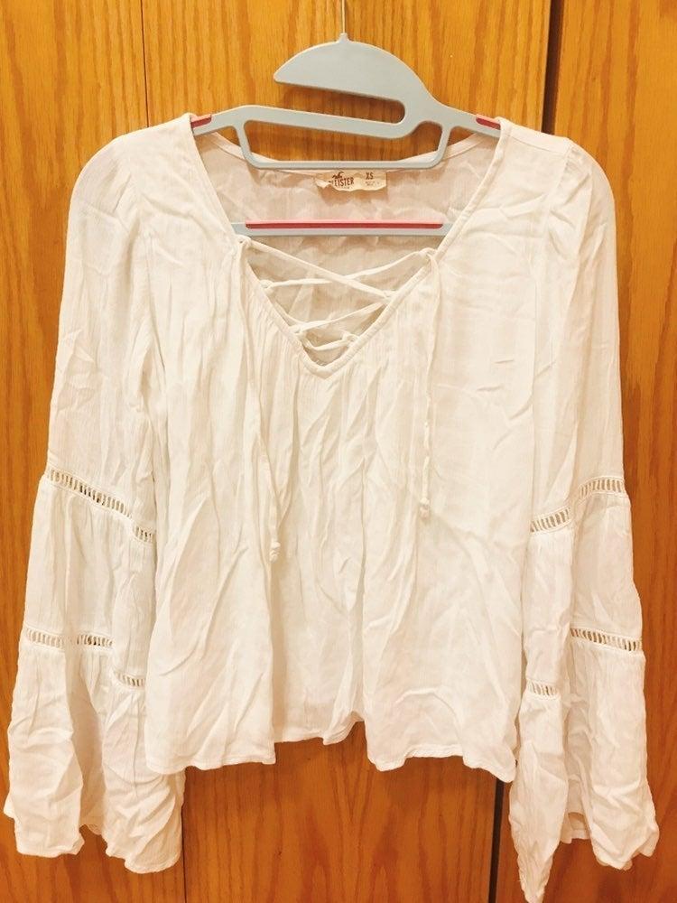 Hollister summer blouse