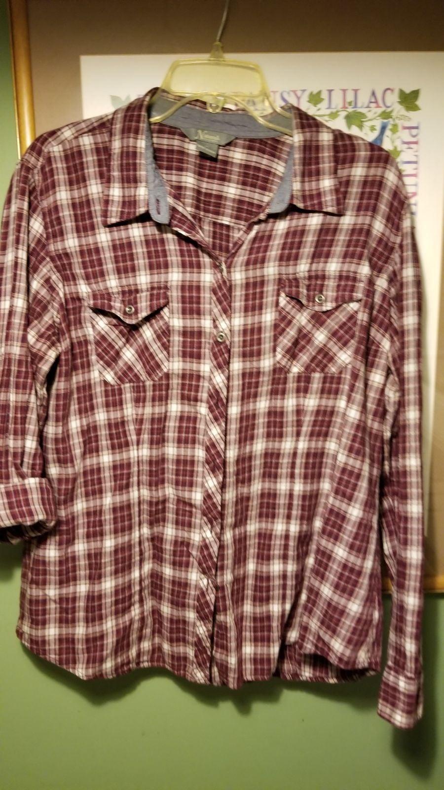 Natural Reflections Plaid shirt