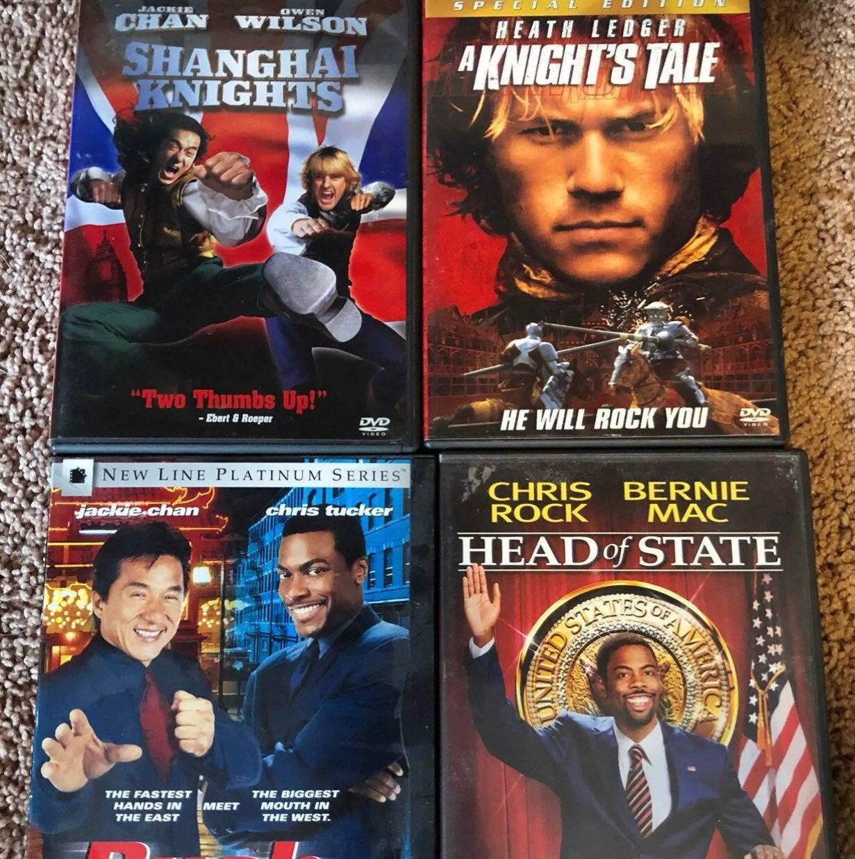 DVD Action Comedies 4 Pack Bundle