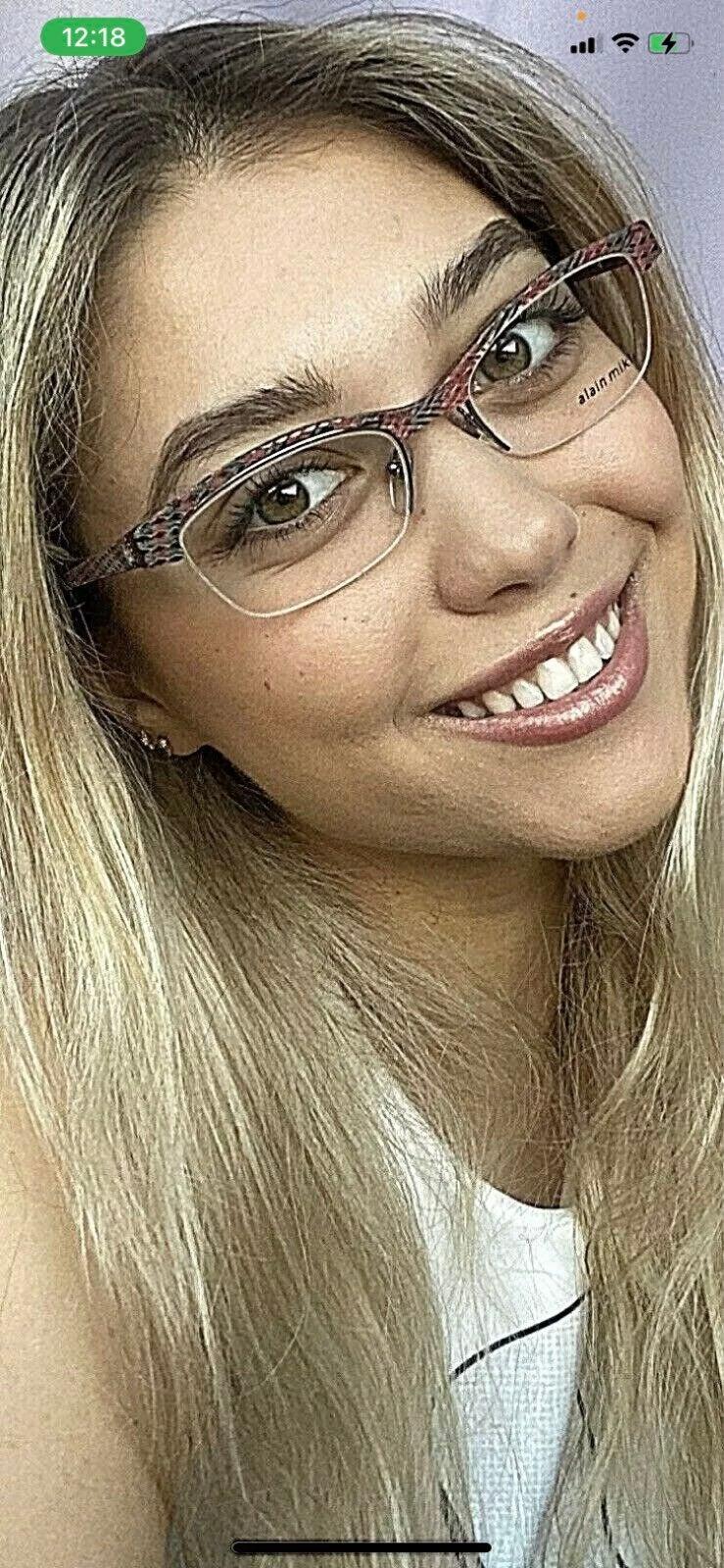 New Alain Mikli Women's Eyeglasses Frame