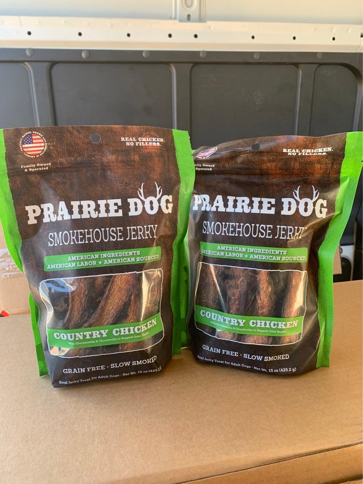 Prairie dog Smokehouse jerky Treats