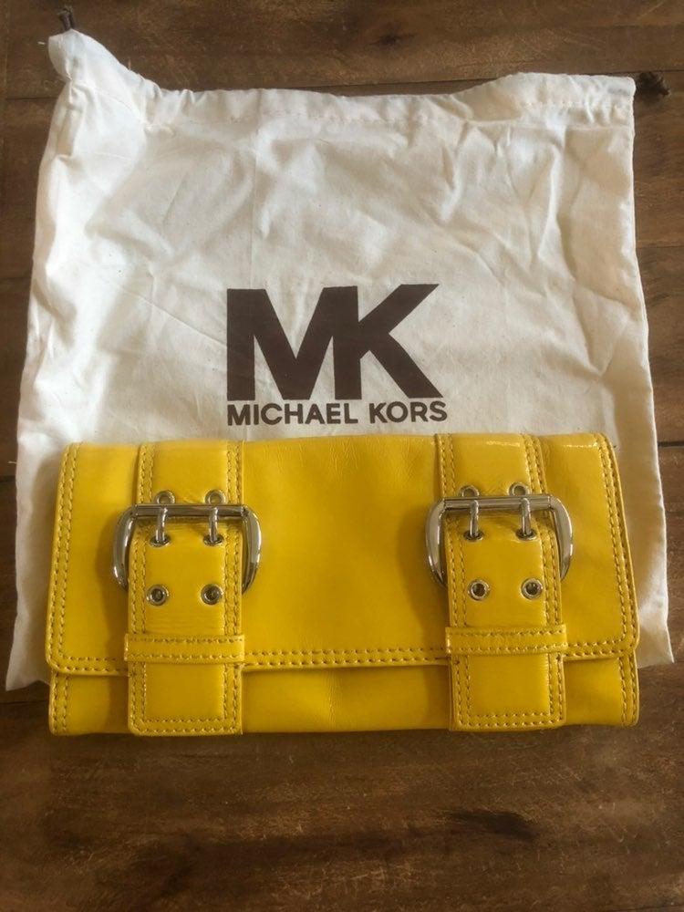 Michael Kors large clutch