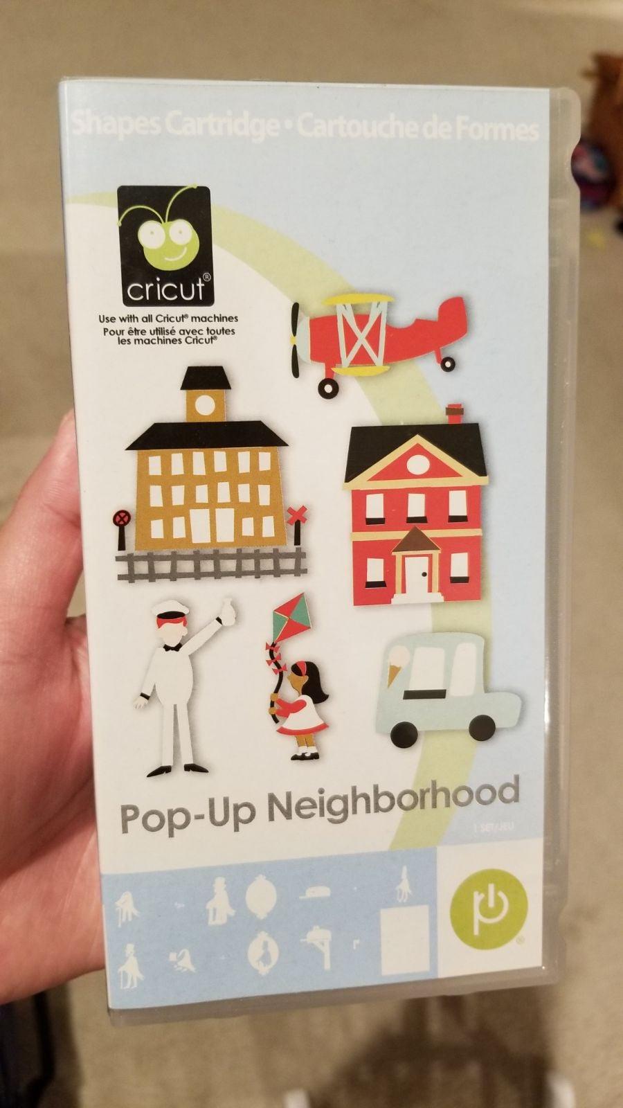 Pop Up Neighborhood Cricut LINKED cartri