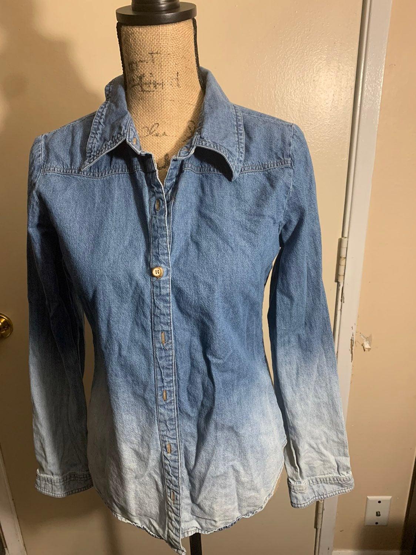 Ladies jean shirt