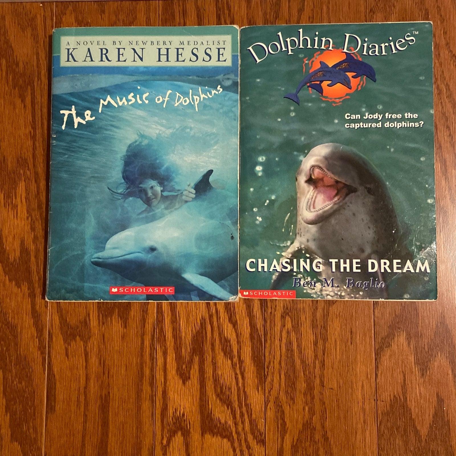 2 Children's Books - Dolphins