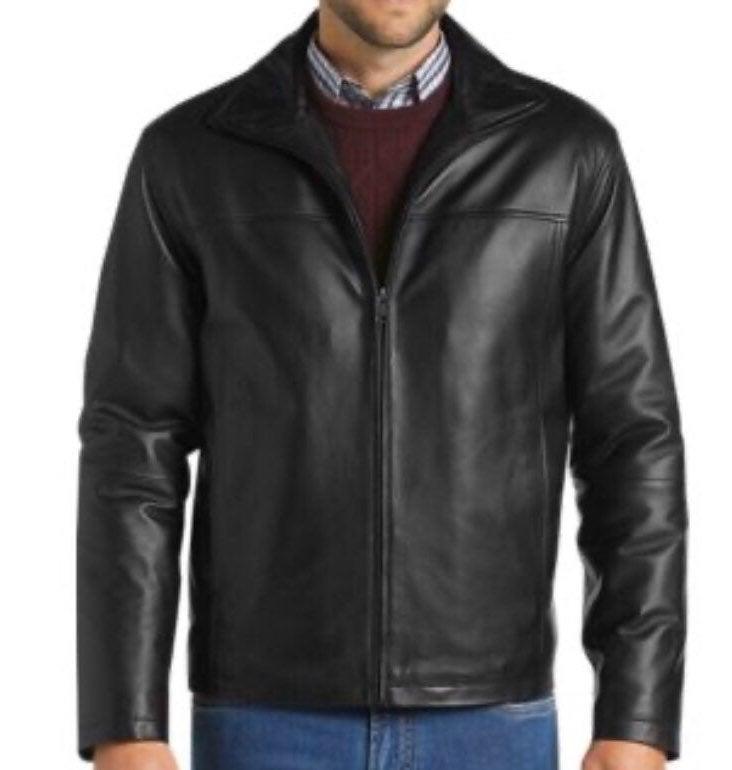 new genuine leather jacket