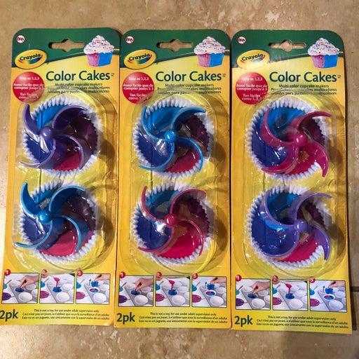 Crayola Cupcake Color Cakes