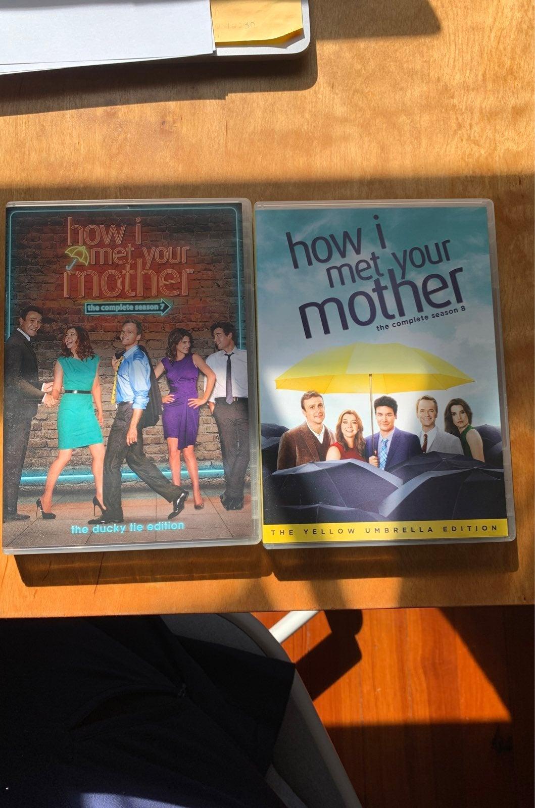 How i met your mother season dvds