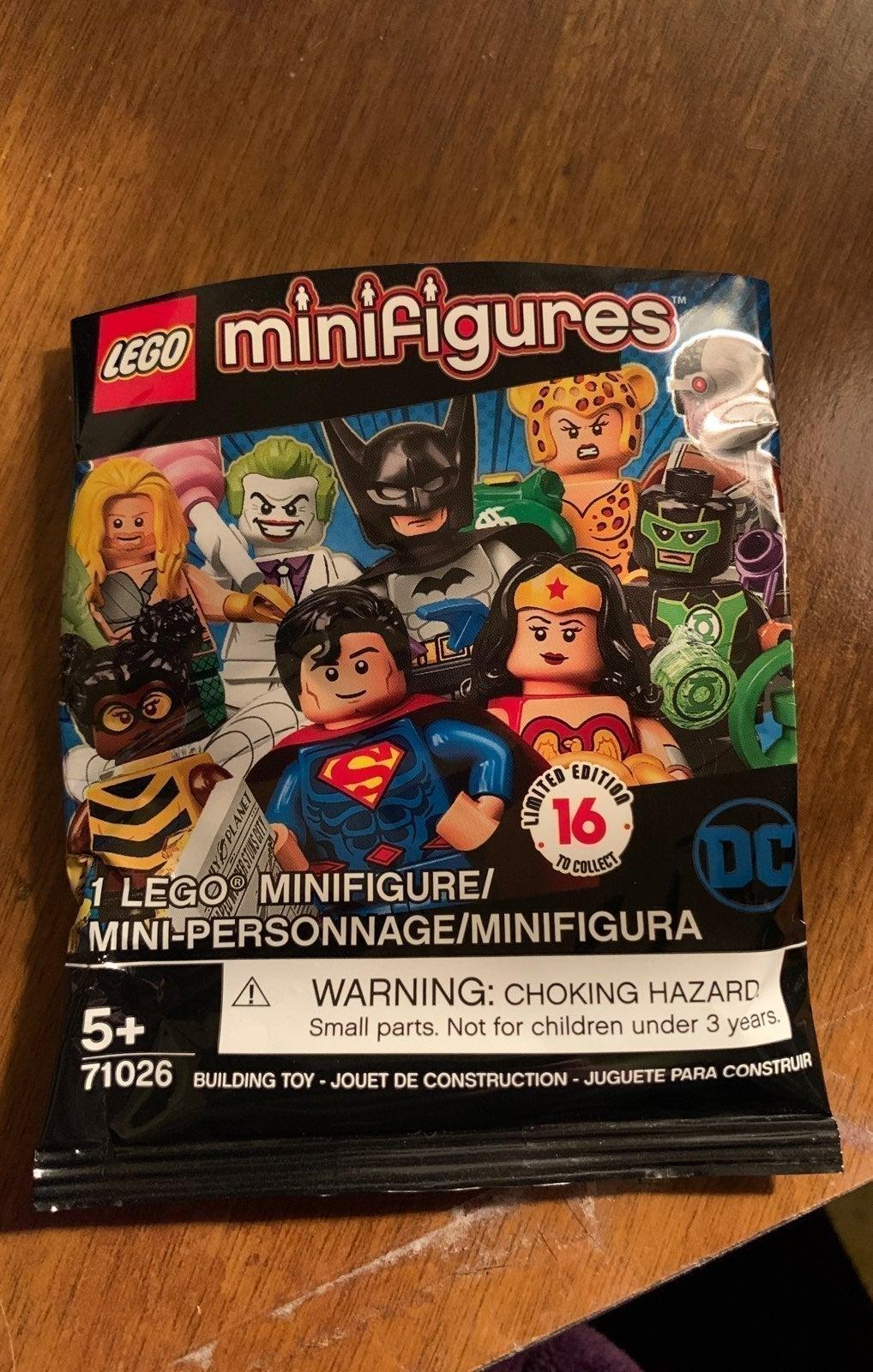 LEGO Mini Figure DC Green Lantern