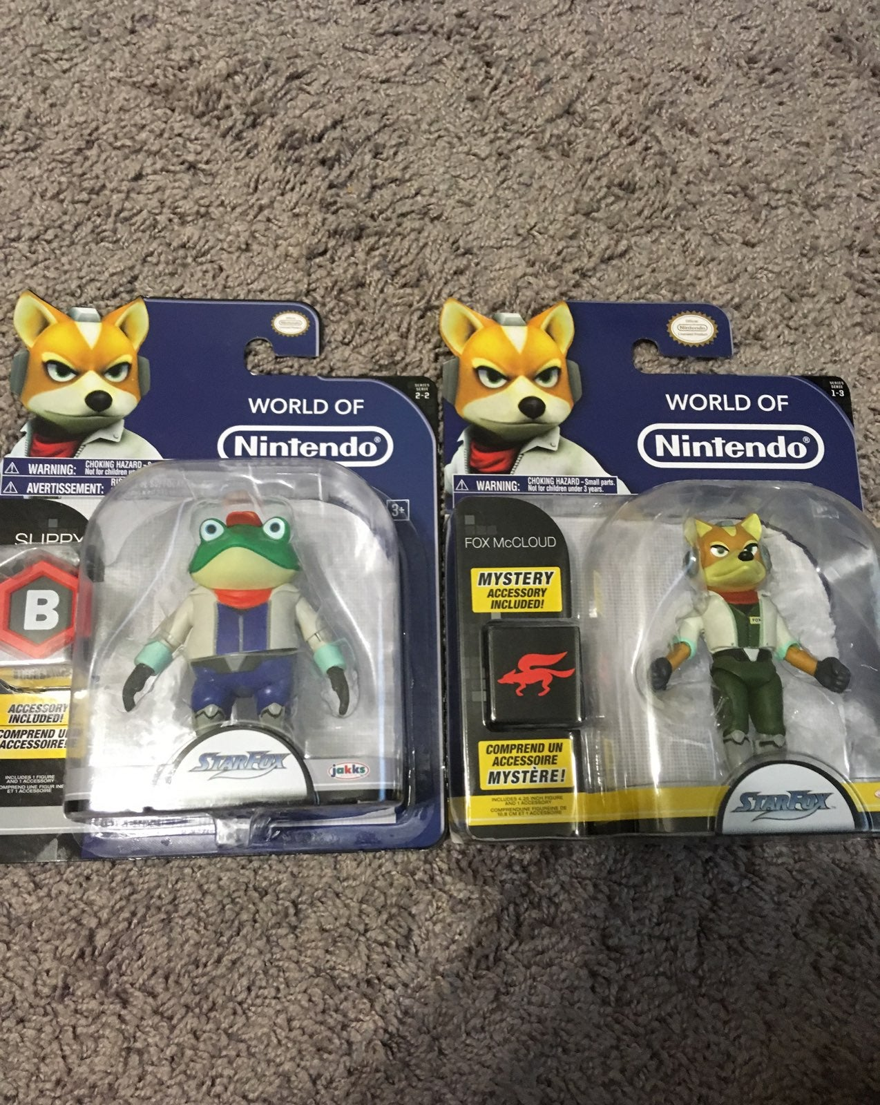 Star Fox Figures