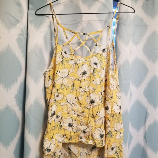 Womens O'Neill Strappy High low Tank Top
