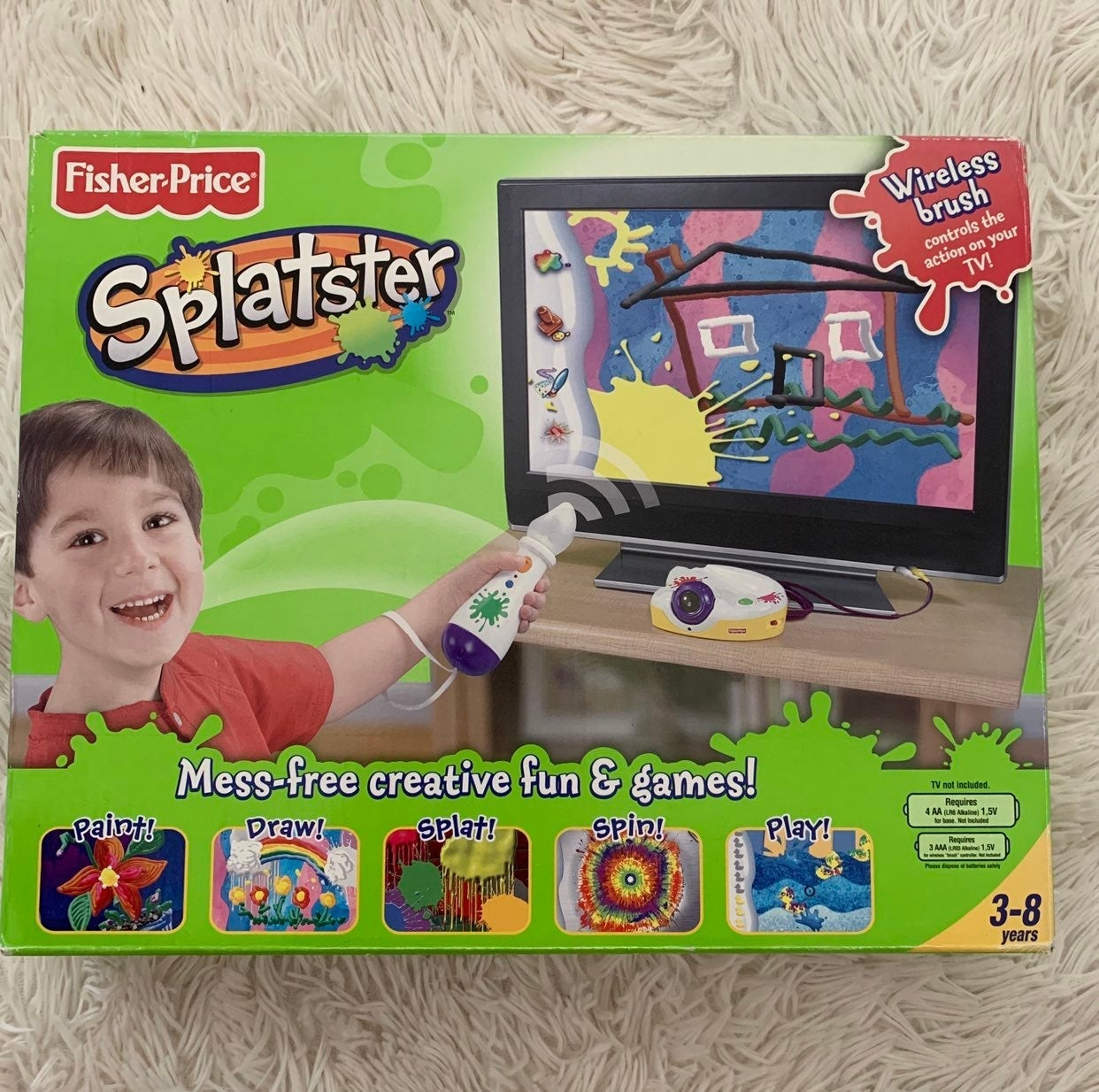 Fisher-Price splatster