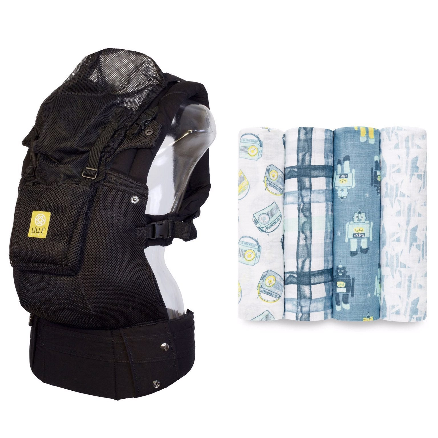 Lillebaby Carrier and Aden + Anais Set