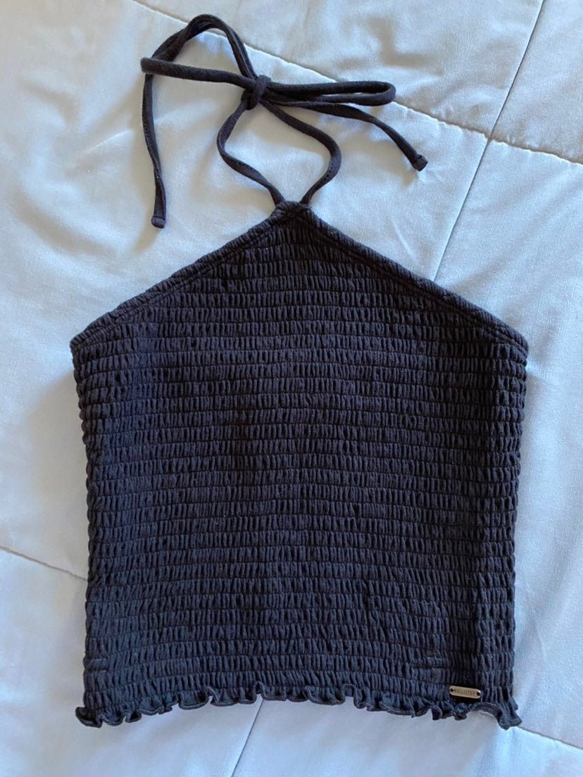 Hollister tube top with tie, size small