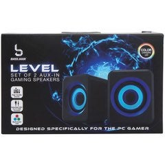 Led light changing gaming  speakers