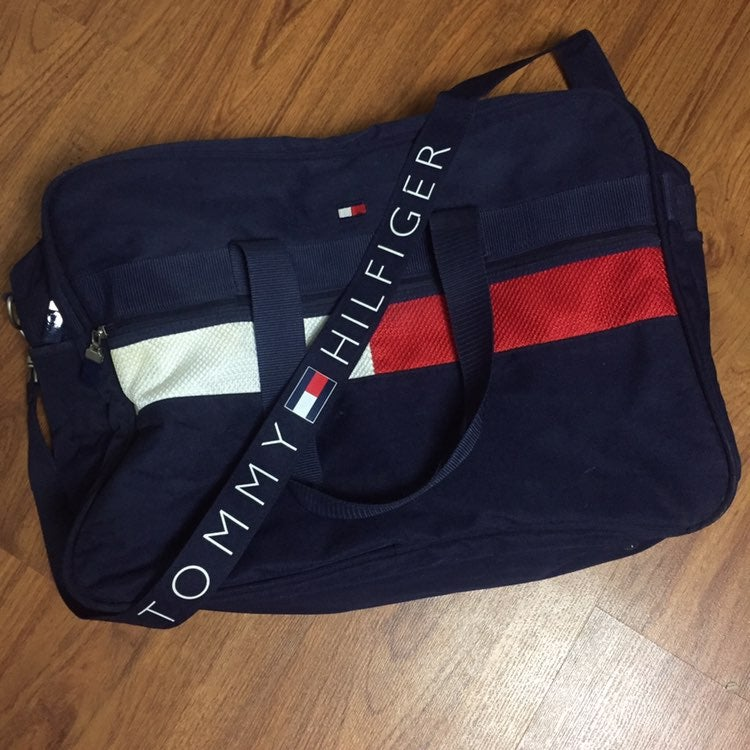 90s Tommy Hilfiger XL Bag