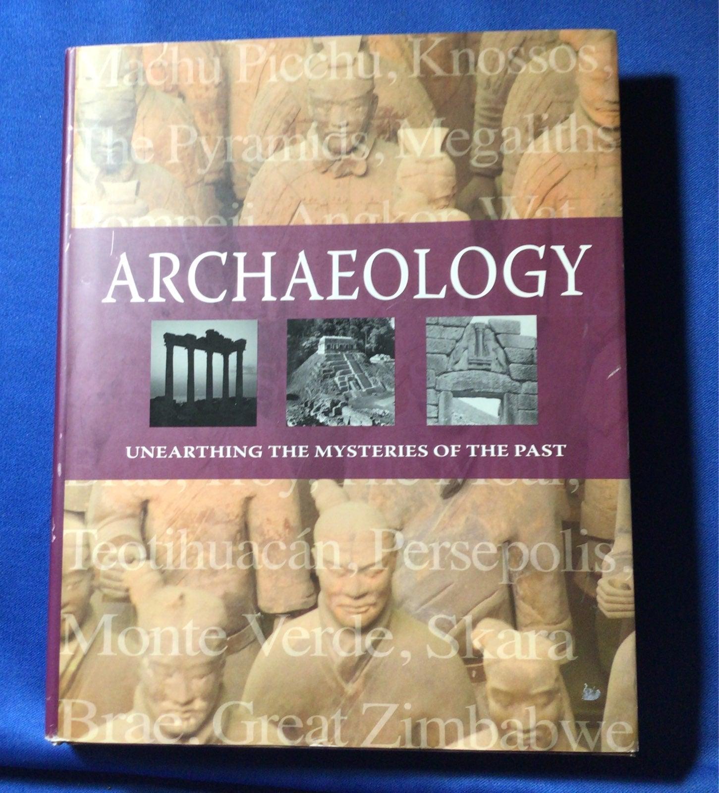 Archaeology HC By Kate Santon