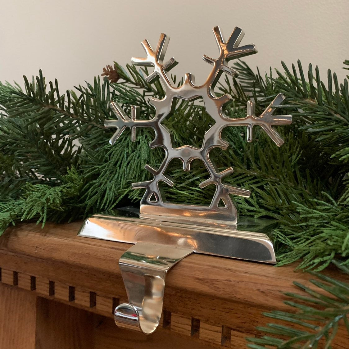 Pottery Barn Snowflake Stocking Hanger