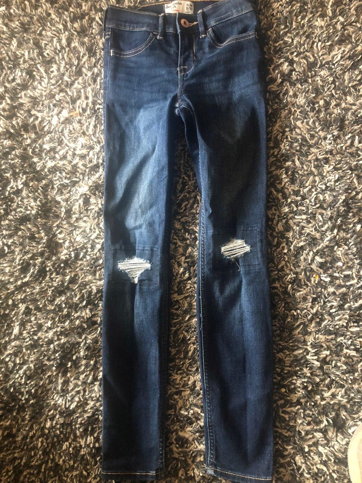Abercrombie Kids Skinny Jeans sz 9/10