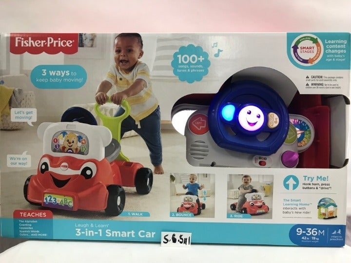 Laugh & Learn 3-in-1 Smart Car