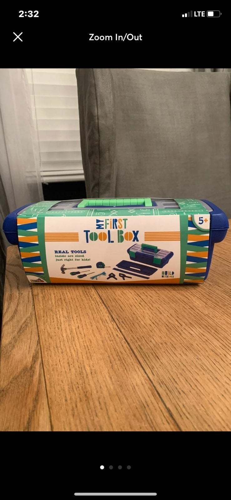 MY FIRST TOOL BOX SET FOR KIDS (NEW)