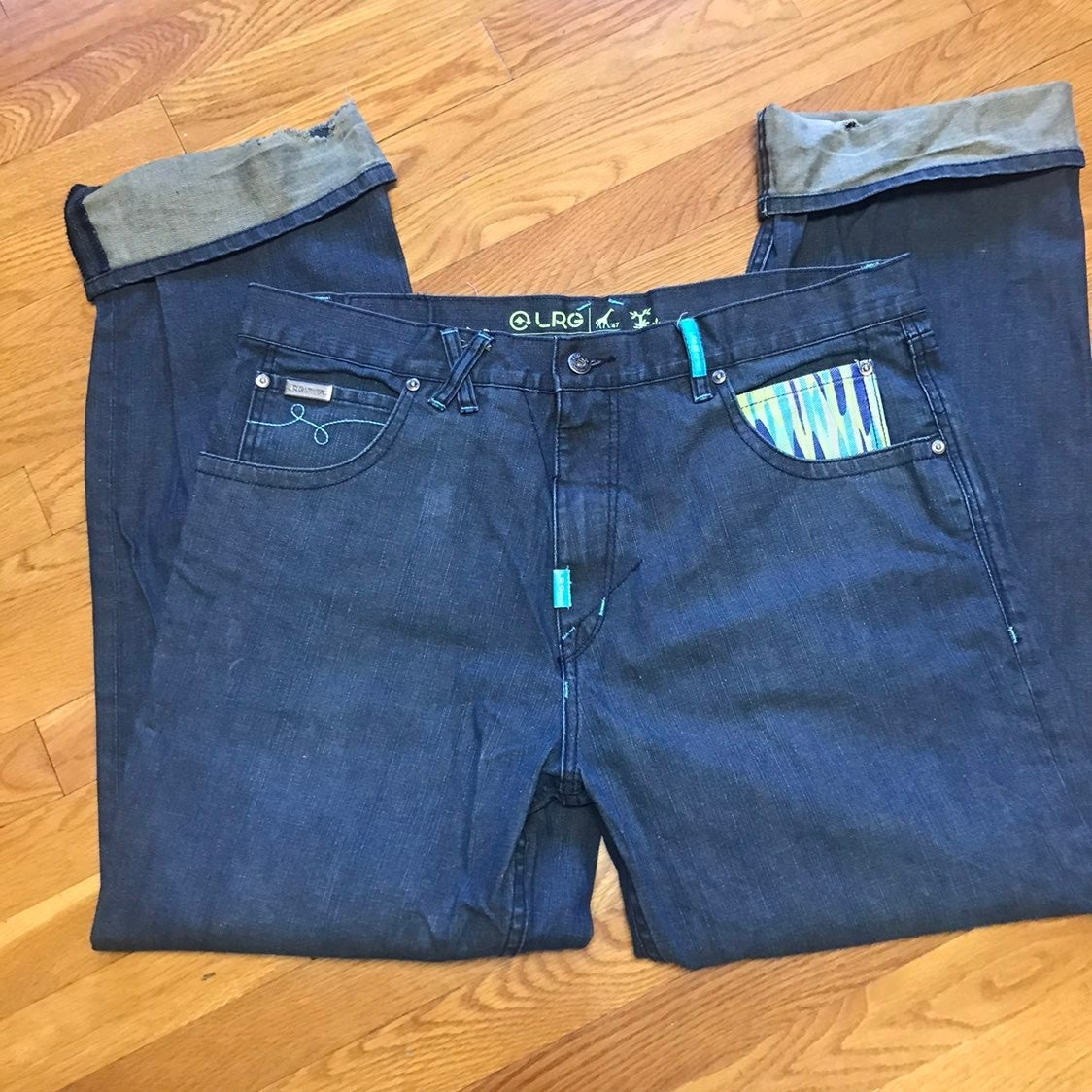 LRG oversized baggy jeans 38