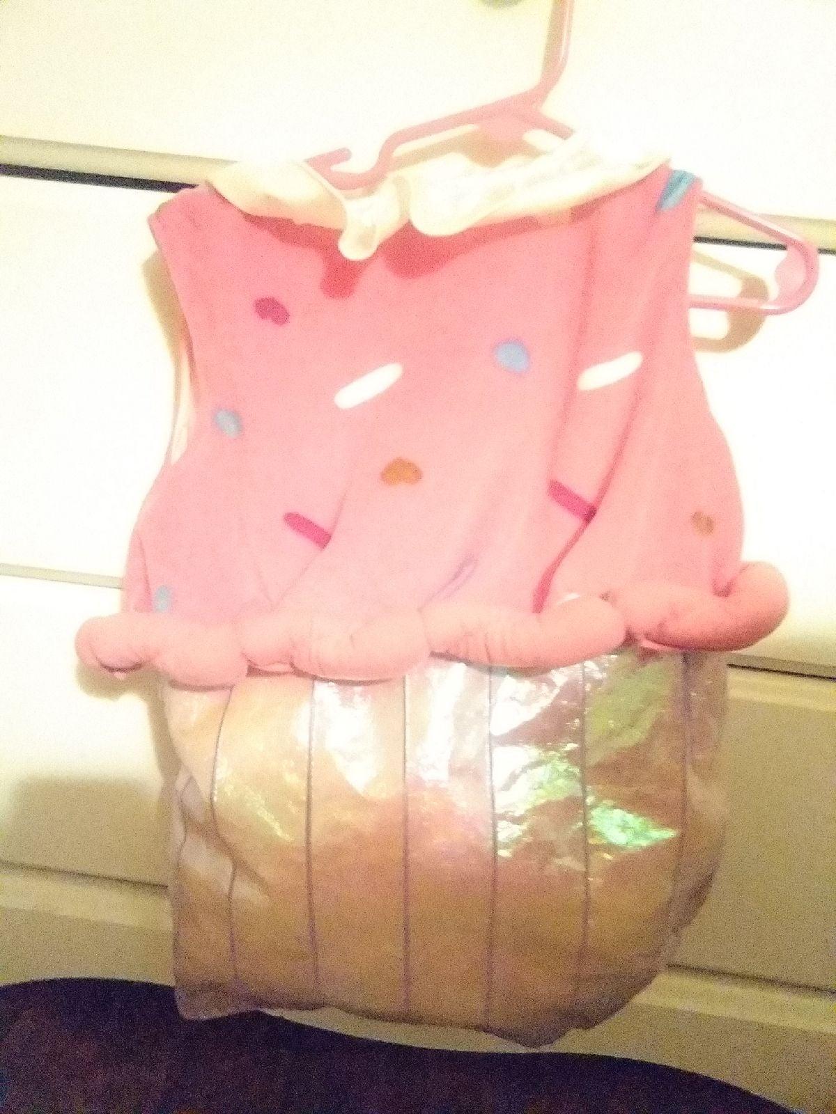 Pink sprinkle cupcake infant costume 18