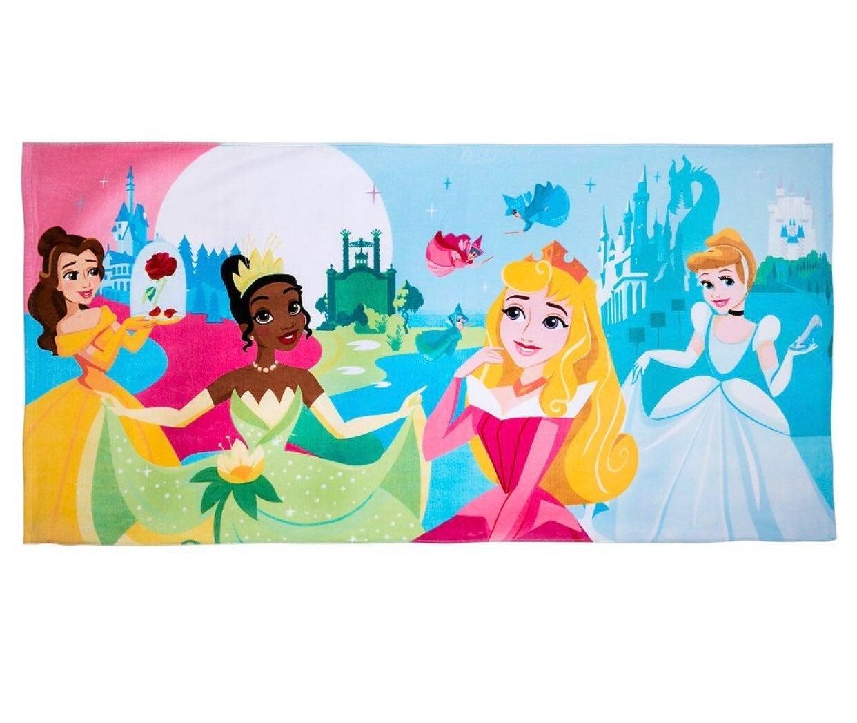 NWT Disney Princess Beach Bath Towel
