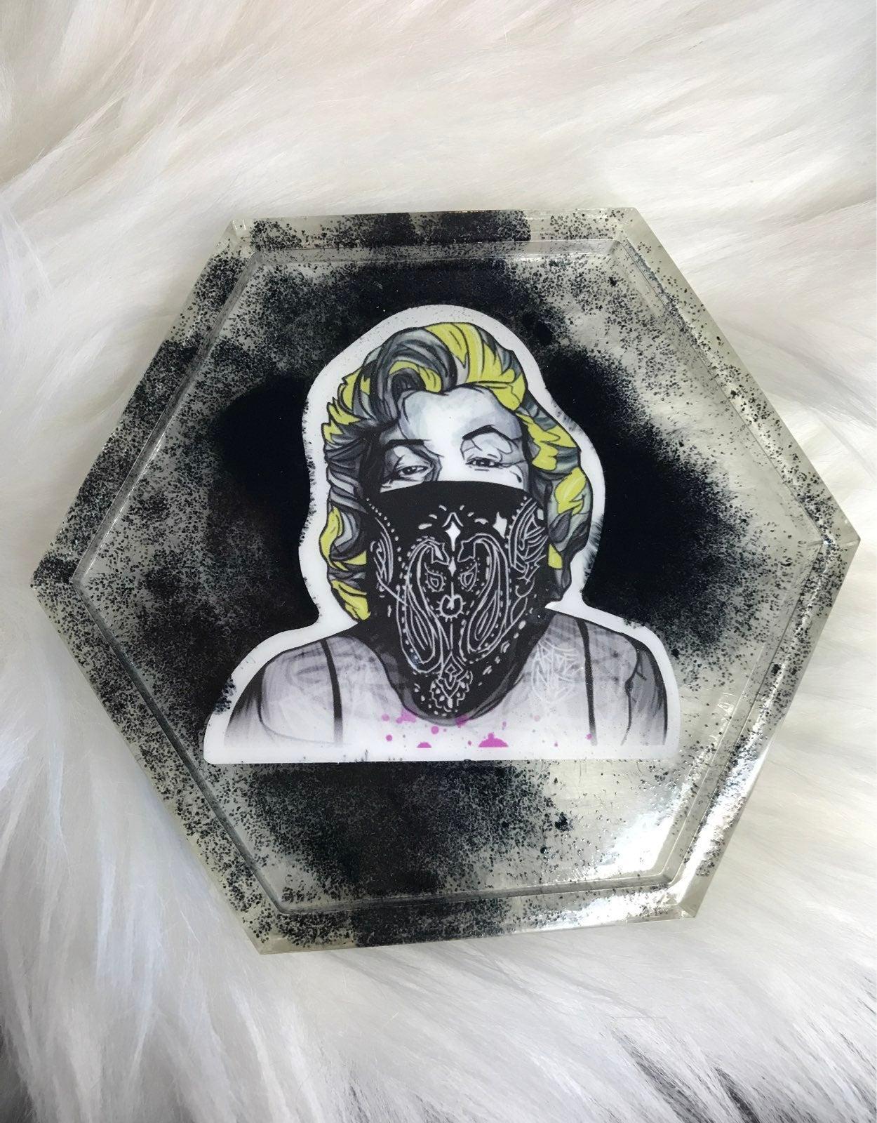 Marilyn monroe coaster