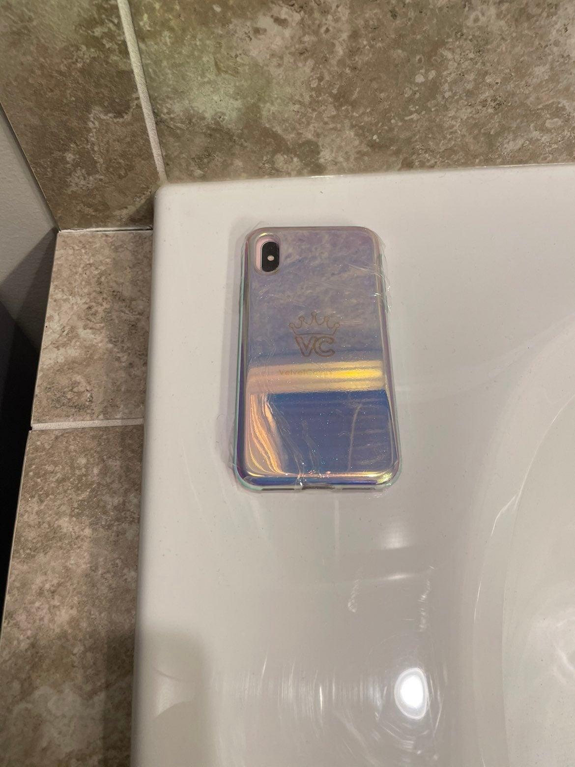 Velvet caviar mirror iphone x case