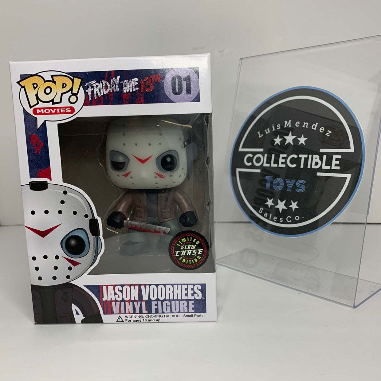 Funko pop jason voorhees chase green glo