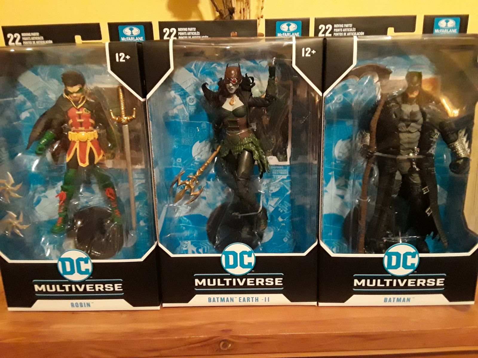 DC Multiverse Batman Death Metal Lot