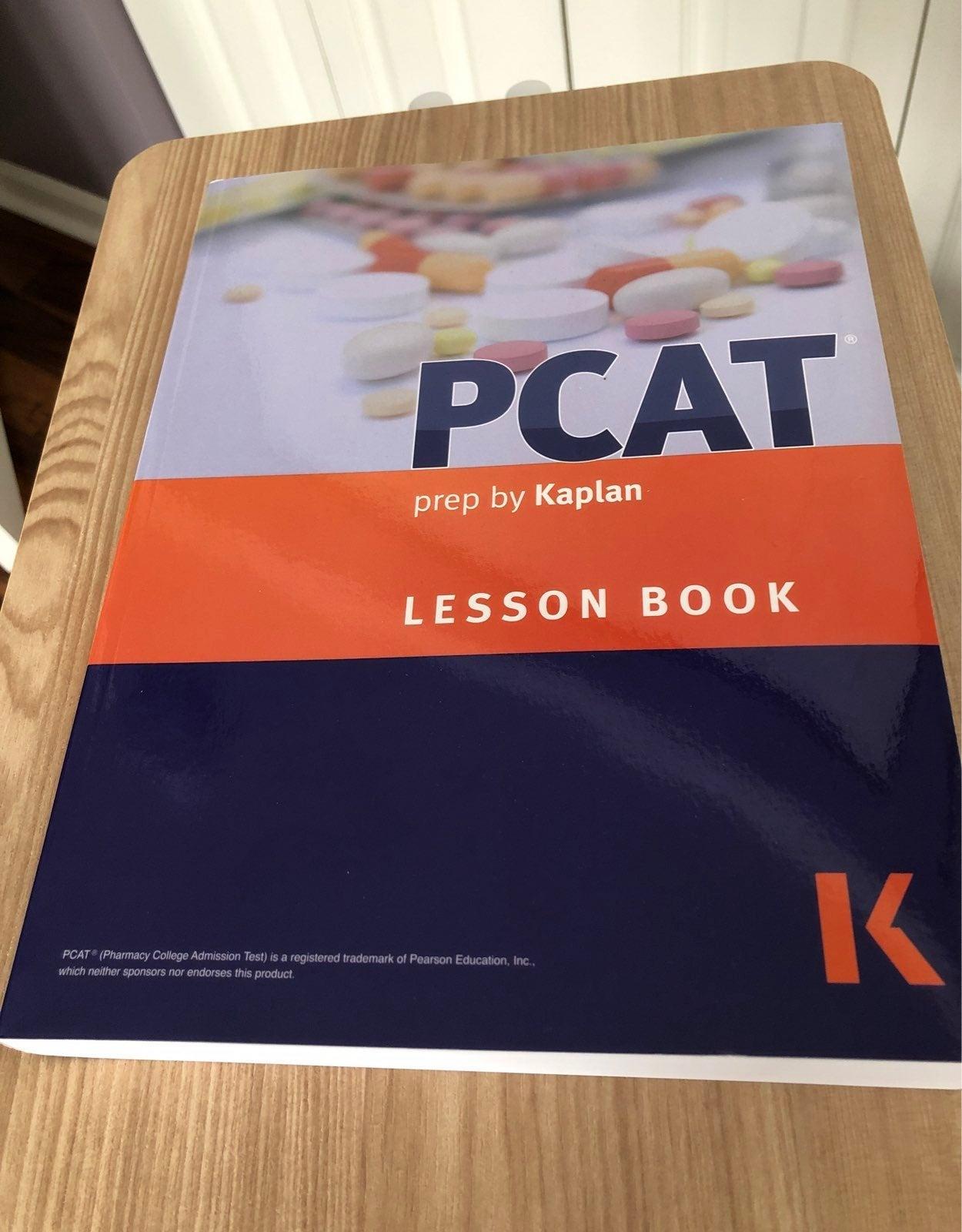 PCAT Kaplan study book