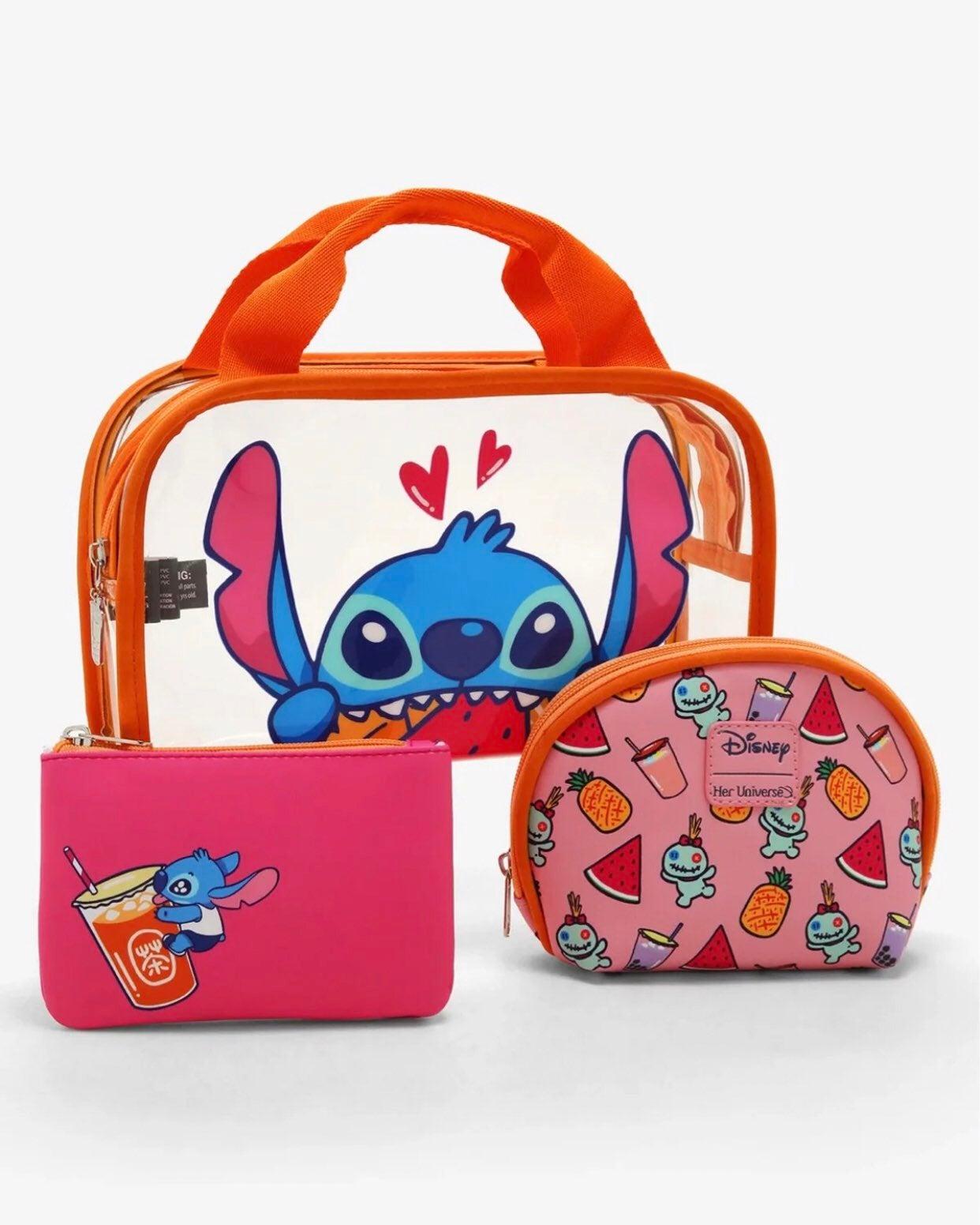 Disney Lilo & Stitch Fruit Cosmetic Bag
