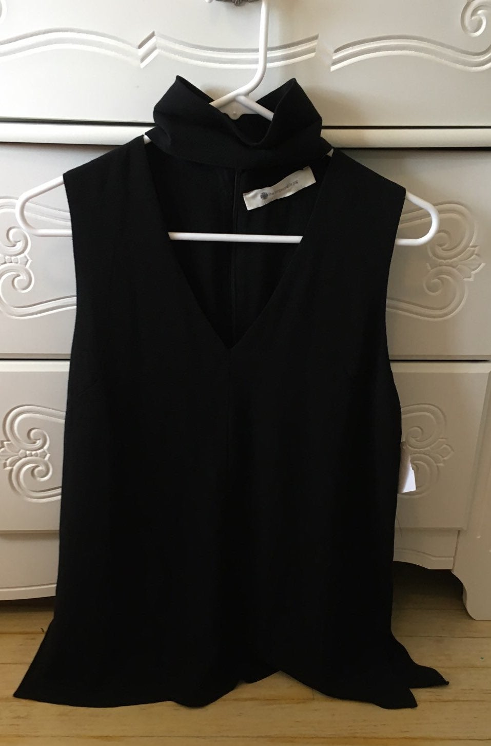 NWT The Impeccable Pig Black Sleeveless