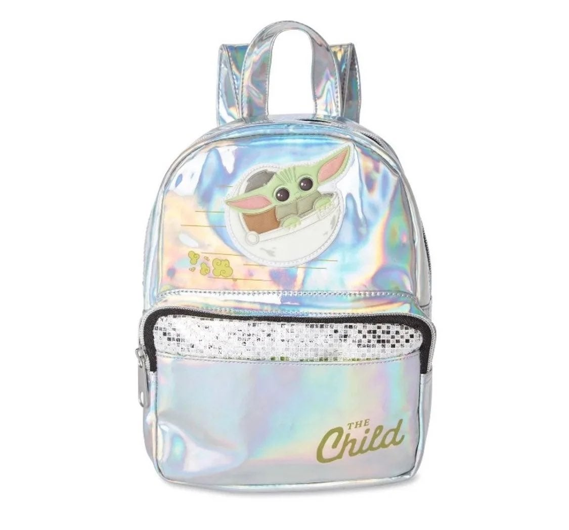 New Baby Yoda Mini Backpack