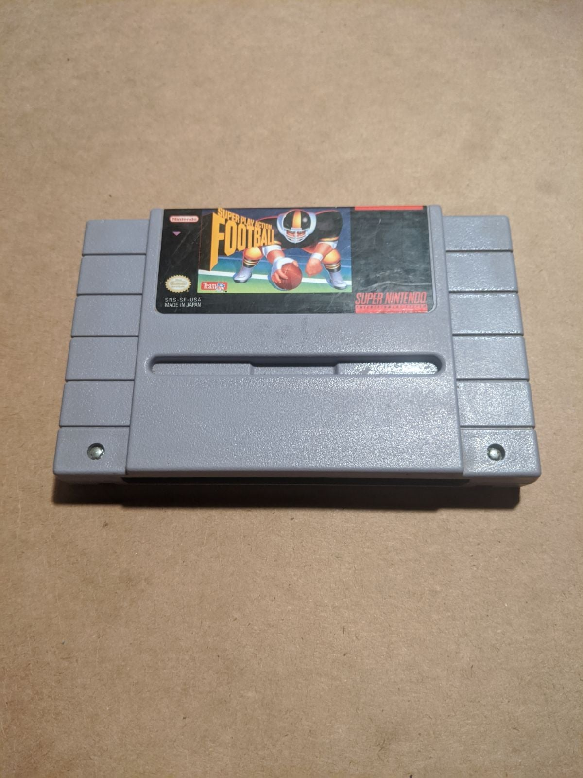 Super play-action football SNES
