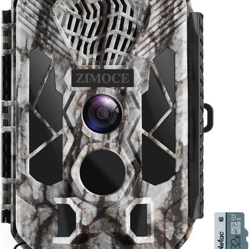 Trail Camera with Night Vision, Motion Activated, Waterproof, MP3 Player