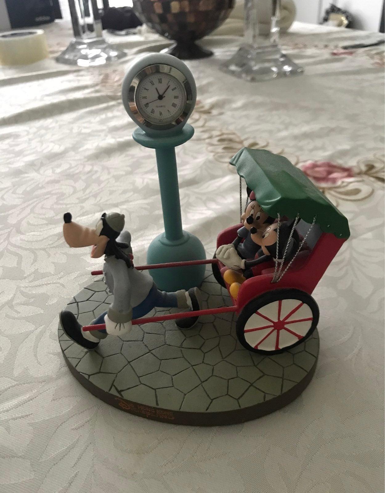 Hong Kong Disneyland Clock Rickshaw