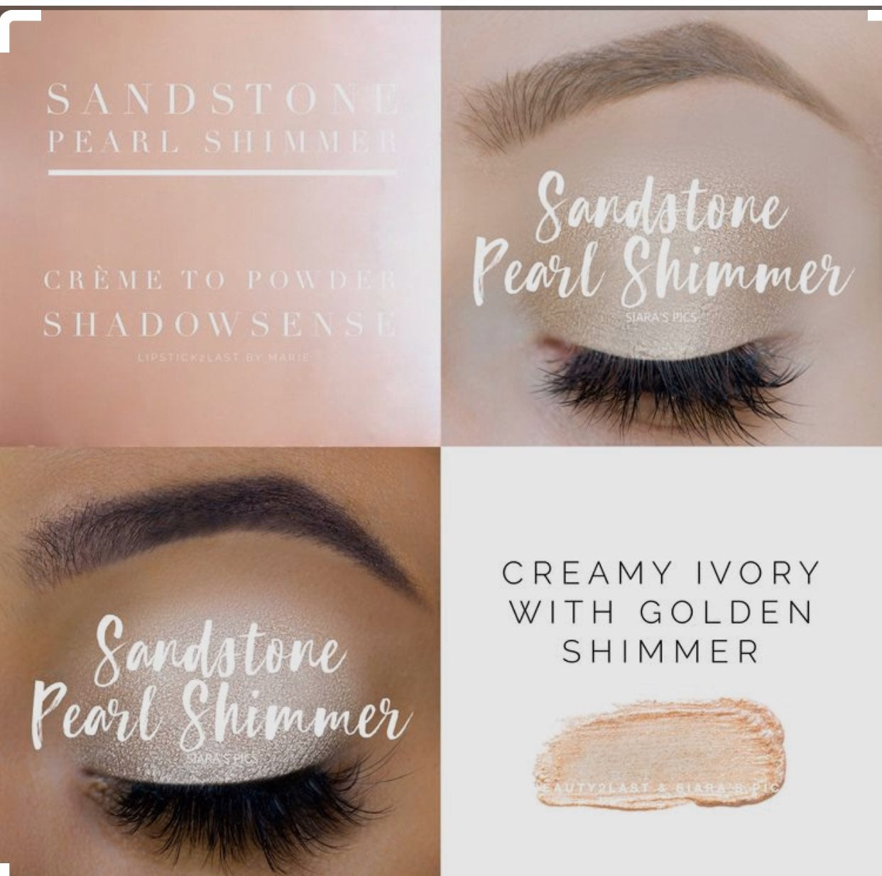 SeneGence ShadowSense in shade Sandstone