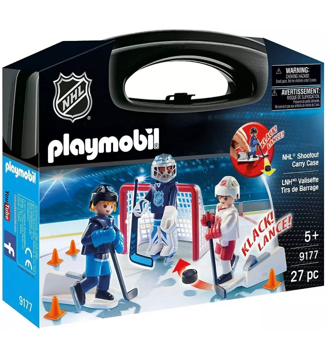 PLAYMOBIL NHL Hockey Shootout Players Fi