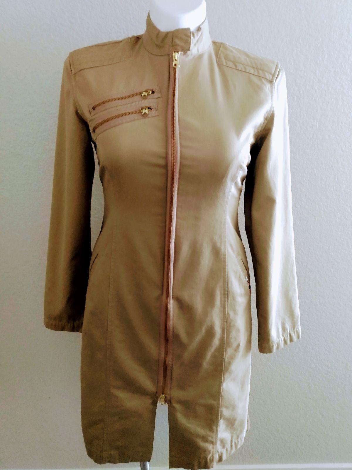 Triple Five Soul E89 Military Khaki Coat